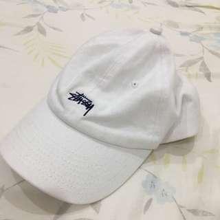 Stussy白色老帽