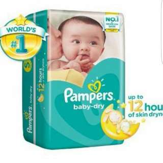 Pampers (S Size) *reserved*