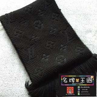 [中古] LOUIS VUITTON Wool Scarf [96%新]