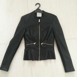 Zara Original Leather Jacket For Woman