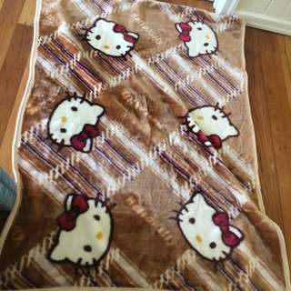 Hello Kitty Throw Blanket
