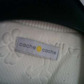 Original Cache-cache Mix Leather Bomber Jacket