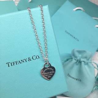 REAL Tiffany & Co Return To Tiffany Heart Tag Pendant