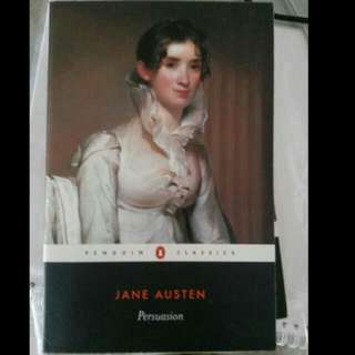 18th Century Novels. Persuasion and Pride and Prejudice by Jane Austen