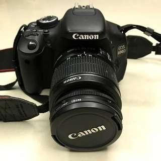Canon 600D 18-55mm鏡頭 公司貨 二手少用 翻轉螢幕(保留中)