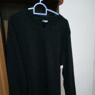 Sweater Black Basic H&M