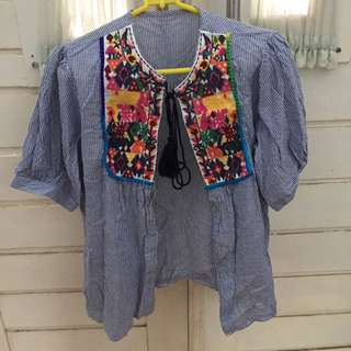 blue strip outer