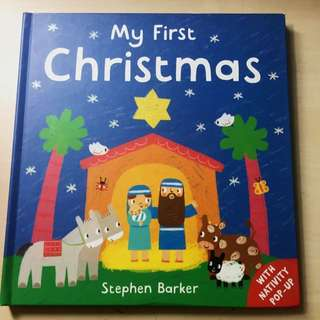 My First Christmas Story Book