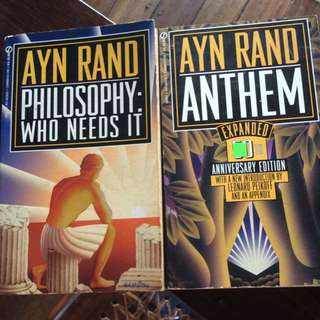 <reserved> Ayn Rand Books