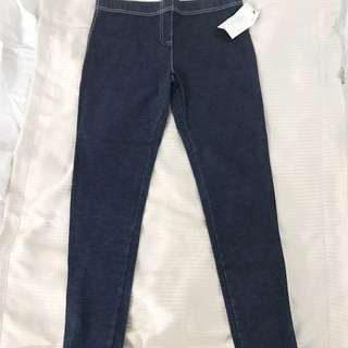 Zara Denim Leggings