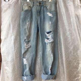 Living Doll Boyfriend Jeans / 8