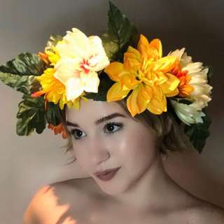 🌺Handmade flower crown🌺 Flower