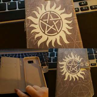 Samsung Galaxy S6 Edge Plus Supernatural Wallet Case