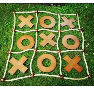 Giant Noughts & Crosses Party Hire