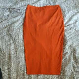 Kookai Orange Midi