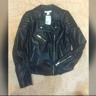 H&M Leather Jacket (New With Tag)