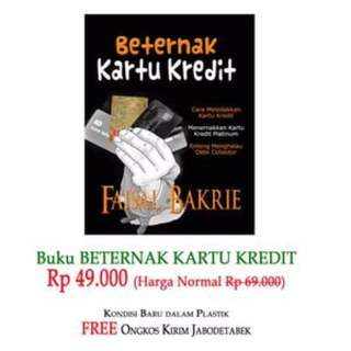 Buku Beternak Kartu Kredit anti debt collector