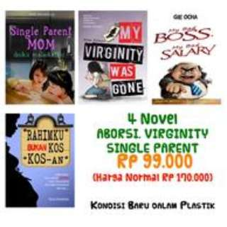 PROMO 4 Buku Best seller
