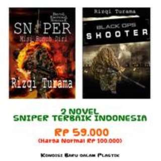 PROMO Novel SNIPER: Misi Bunuh Diri, Bestseller
