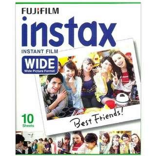 Instax Wide Film For Fujifilm Instax 210, Instax 100, Instax 200, Instax 300, Lomo Instant