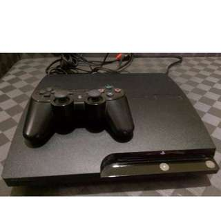 🚚 ps3 console rebug system could play hard disk game( hard disk 250g)+ 1 controller