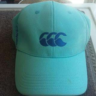 Blue Canterbury cap