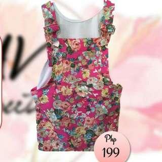 Jumpskirt (Floral Pink)