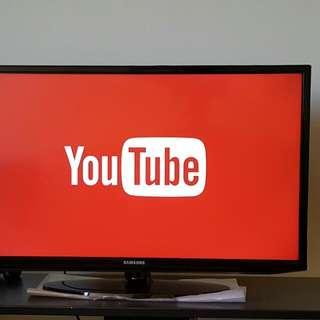 "Samsung 32"" Smart TV FullHD1080p 120Hz Motion Rate"