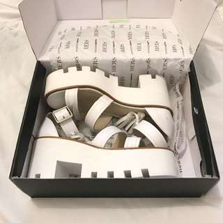White Windsor Smith 'Toughy' Sandals