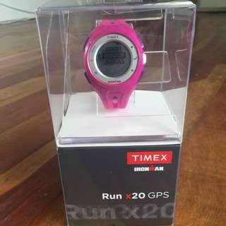 TIMEX IRONMAN RUNX20 GPS woman's Watch