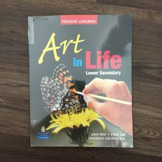Lower Secondary Art In Life Textbook