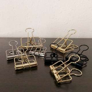 Stylish Skeleton Binder Clips