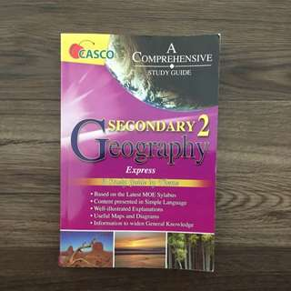 Geography Secondary 2 Comprehensive Study Guide