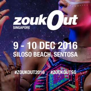 ZoukOut 2016 (2 Days Ticket)