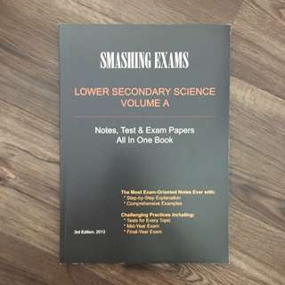 Lower Secondary Science Test/Exam Papers + Notes Volume A
