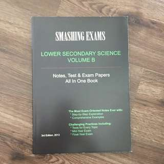 Lower Secondary Science Test/Exam Papers + Notes Volume B