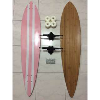 Xmas Offer~! 42inch Pintail Longboard