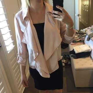 Pastel Pink Trench Jacket 8