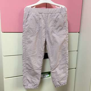 Uniglo Babies Toddler Warm Lined Pants