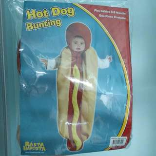 (for Sale/rent) Hot Dog Costume (3 To 9 mths) [worn once only]