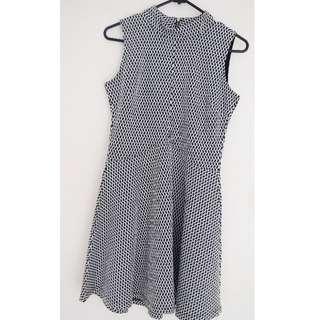 Cotton On Black & White Dress