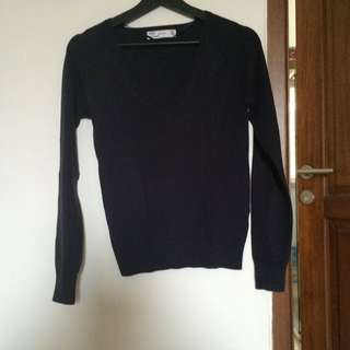 Zara Navy Sweater