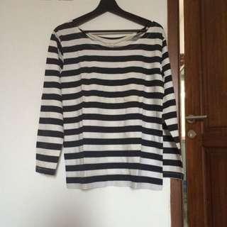 Zara Striped Longsleeve Tshirt