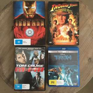 Set of DVDs