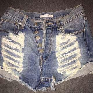 Mink Pink Shorts Size 8