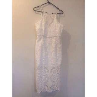 Size12 White Dress