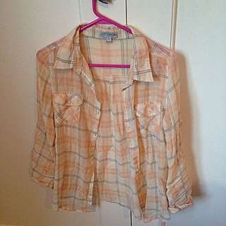 Light Apricot Cotton On Shirt