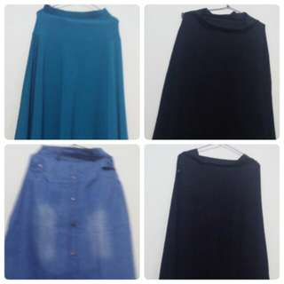 Macam2 Skirt/rok Wanita Hijab