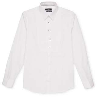 White Baron Tux Shirt Small Worn Once Only From Calibre