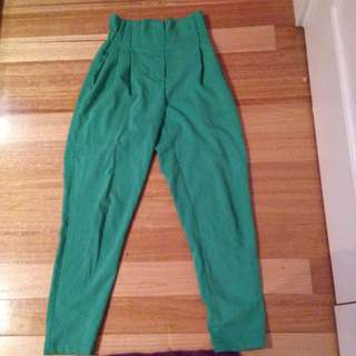 Green Mossman Pants